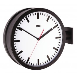 Balance double-sided wall clock 38 cm