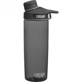 Chute Juomapullo Integroitu pikakorkki, BPA-vapaa, Harmaa, CamelBak 0.6L