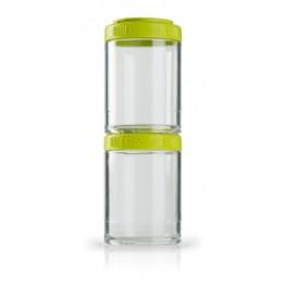 Blender Bottle GOSTAK rasiat, 150 ml, vihreä - 2 kpl