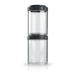 Blender Bottle GOSTAK rasiat, 150 ml, musta - 2 kpl