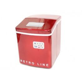 Retro Line Jääpalakone, Punainen/Valkoinen 3.8L