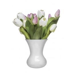 Sagaform Blomma maljakko, Valkoinen