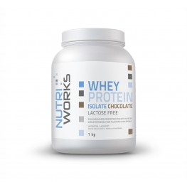 Nutri Works heraproteiini-isolaatti jauheena, suklaa 1 kg
