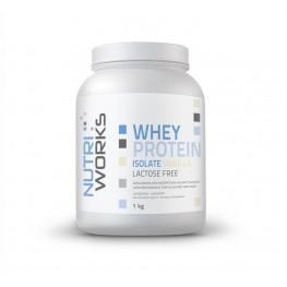 Nutri Works heraproteiini-isolaatti jauheena, vanilja1 kg