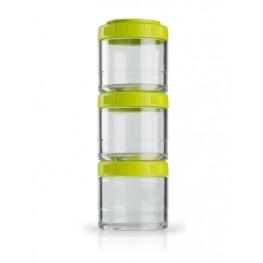 Blender Bottle GOSTAK rasiat, 100 ml, vihreä - 3 kpl