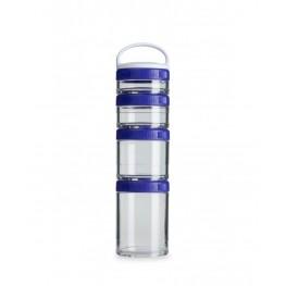 Blender Bottle GOSTAK starter 4PAK, säilytysrasiat, lila