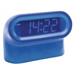 LED Alarm Clock Digital Blue