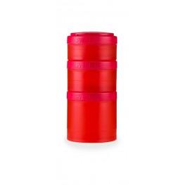 Blender Bottle Expansionpak Prostakille, lisäpurkit Prostakille, punainen