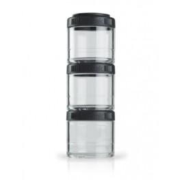 Blender Bottle GOSTAK rasiat, 100 ml, musta - 3 kpl
